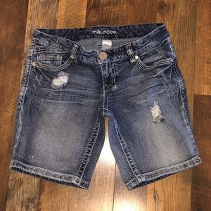 Maurices Jean Shorts Size 3/4